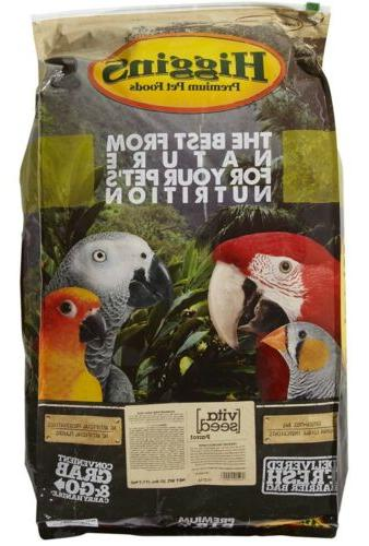 Higgins 466145 Vita Seed Parrot Food for Birds 25-Pound