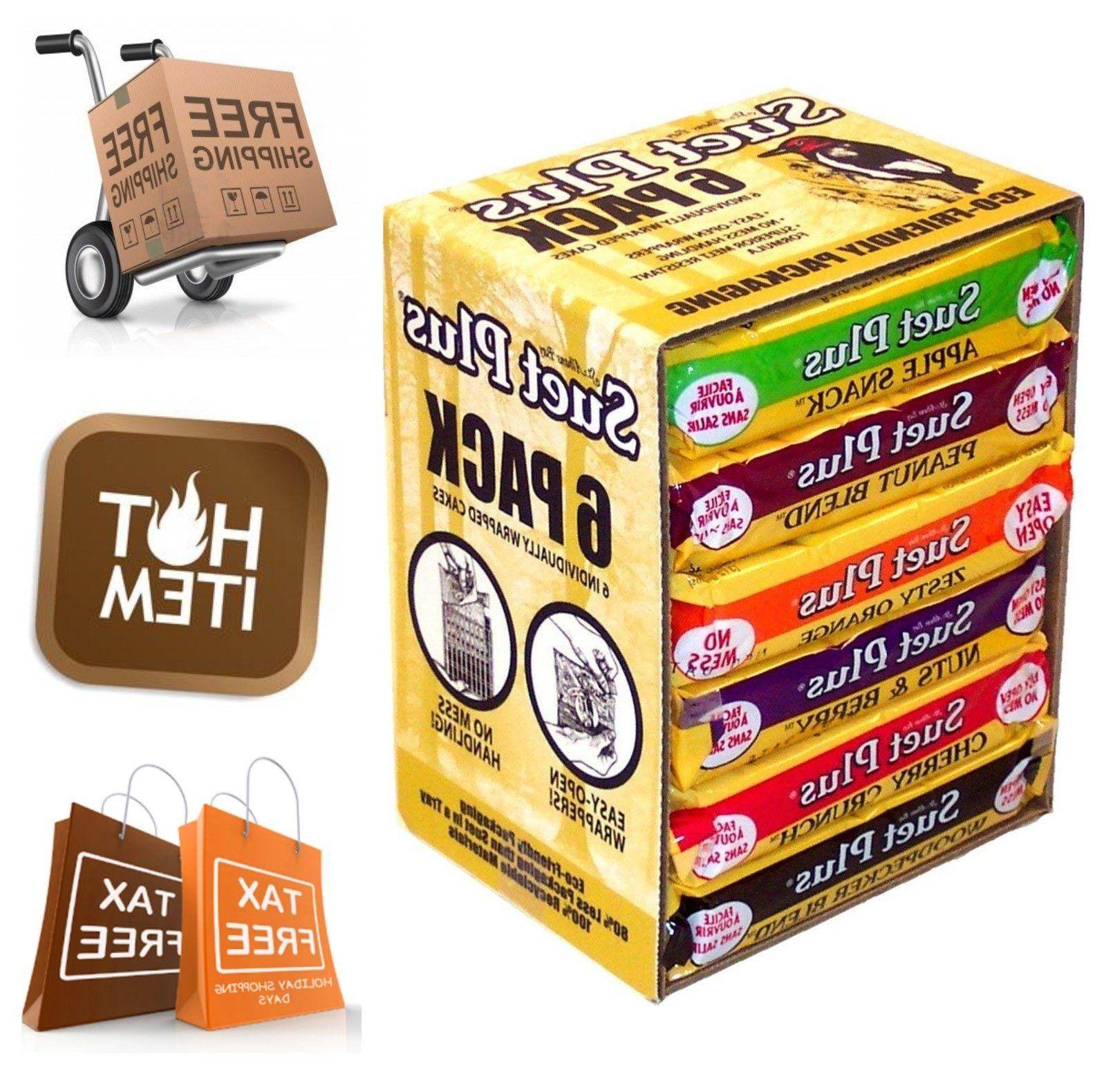 6 pack suet plus variety flavors backyard