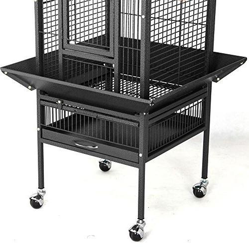 Yaheetech Black Bird Cage Finch