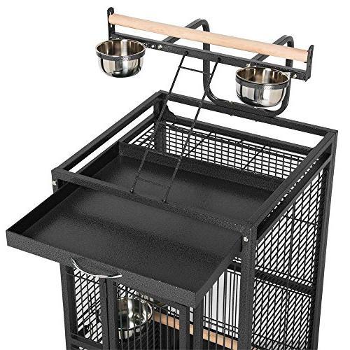 Yaheetech Bird Cage Cockatiel Finch w/Play