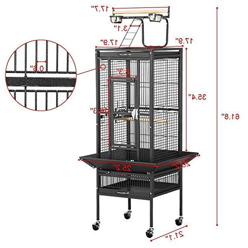 """Yaheetech 61"""" Cage Cockatiel"""