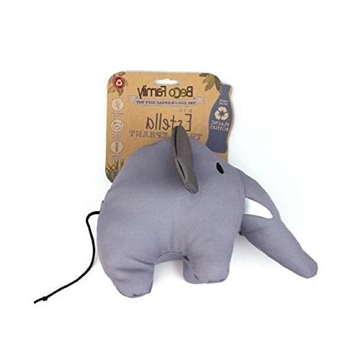 BecoThings Estella the Elephant Plush Toy for Dogs