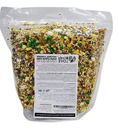 Birds LOVE Garden for Conures - Free 4lb