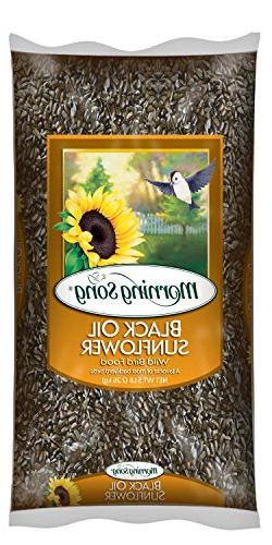 Morning Song 11997 Black Oil Sunflower Wild Bird Food, 5-Pou
