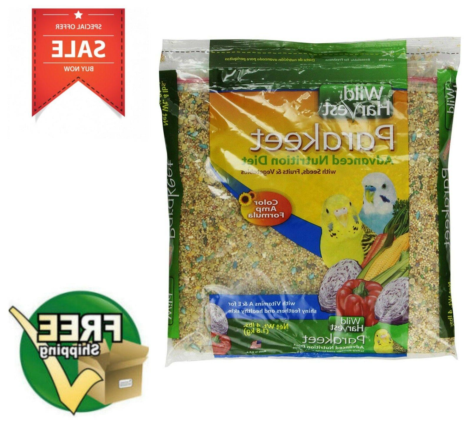 Wild Harvest Advanced Nutrition Parakeet 4-Pound Canary Finc