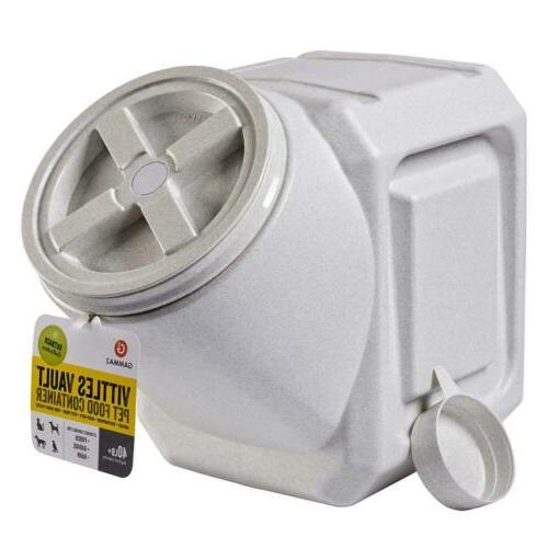 airtight stackable food container pet dog cat