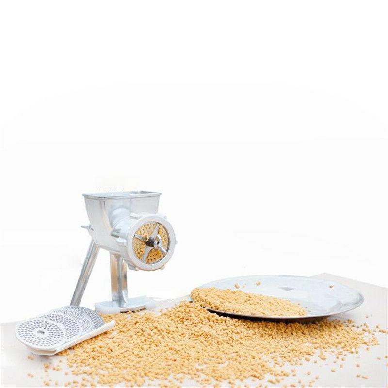 animal food maker metal bearing manual bird