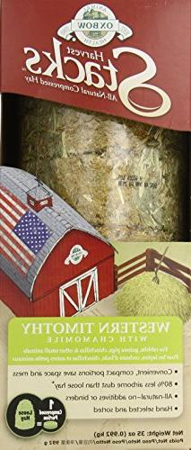 Oxbow Animal Health Harvest Stacks Western Timothy with Cham