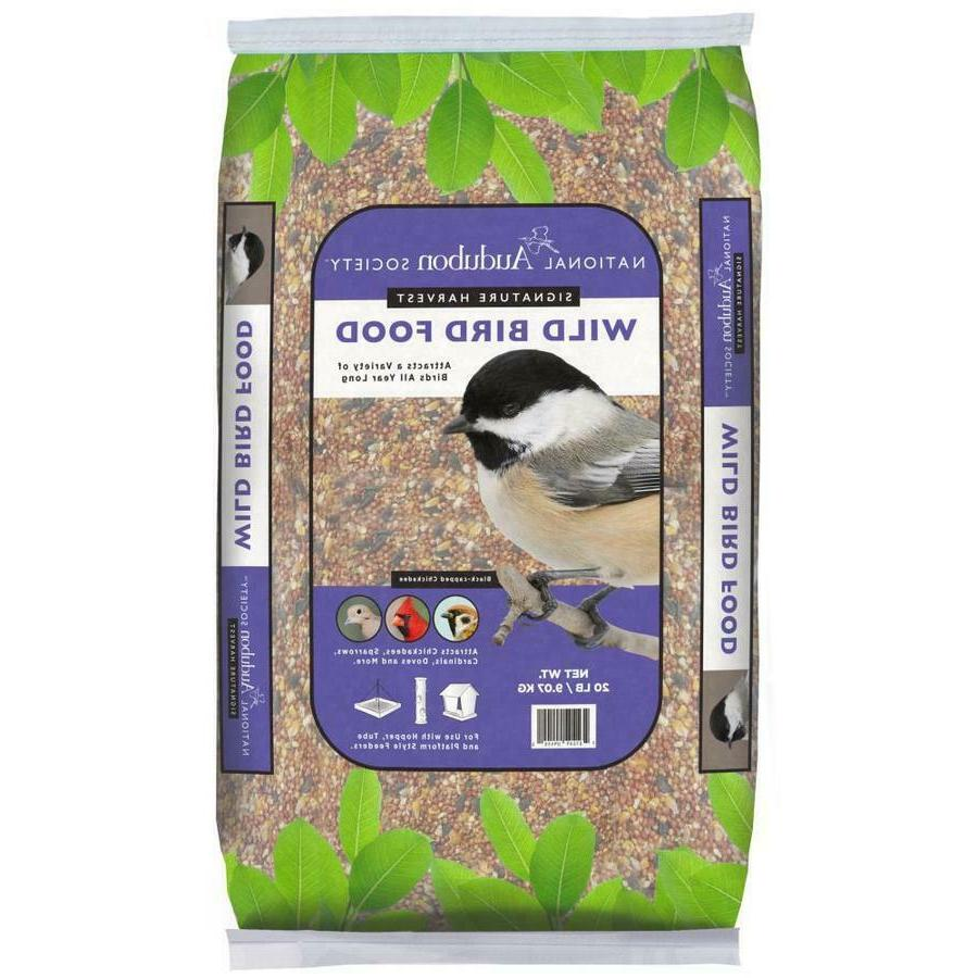Wild Bird Seed Food 20-lbs Premium Blend Mix  Bag Park Seed