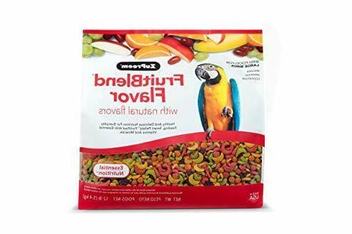 ZuPreem AvianMaintenance FruitBlend Bird Diet for Parrots &