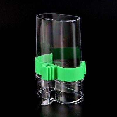 Bird Water Feeder Parrot Canary Automatic Feeding Drinking Dispenser Device Use