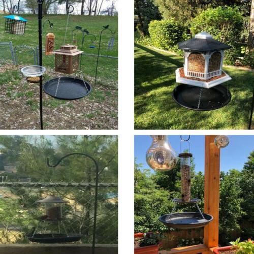 Hanging Wild Bird Feeder Bird Bath Garden Decor - catches fa
