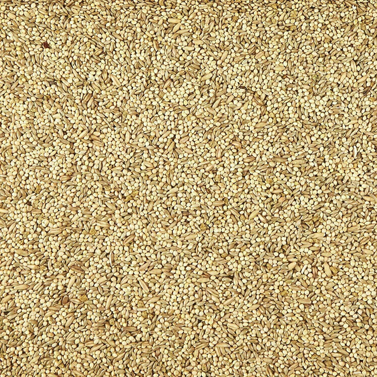 Bird for Parrots 25lb Natural Seeds Grains and Pellets Supreme