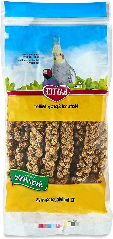 Bird Food Nutritious Spray Millet For Birds  1-pack  packagi