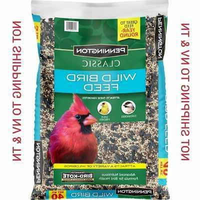 bird food seed mix blend balanced diet