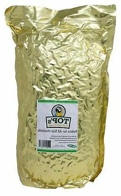 TOP's All-Natural Bird Pellets for Parrots 10lb