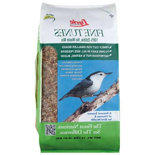 bird seed fine tunes no waste mix