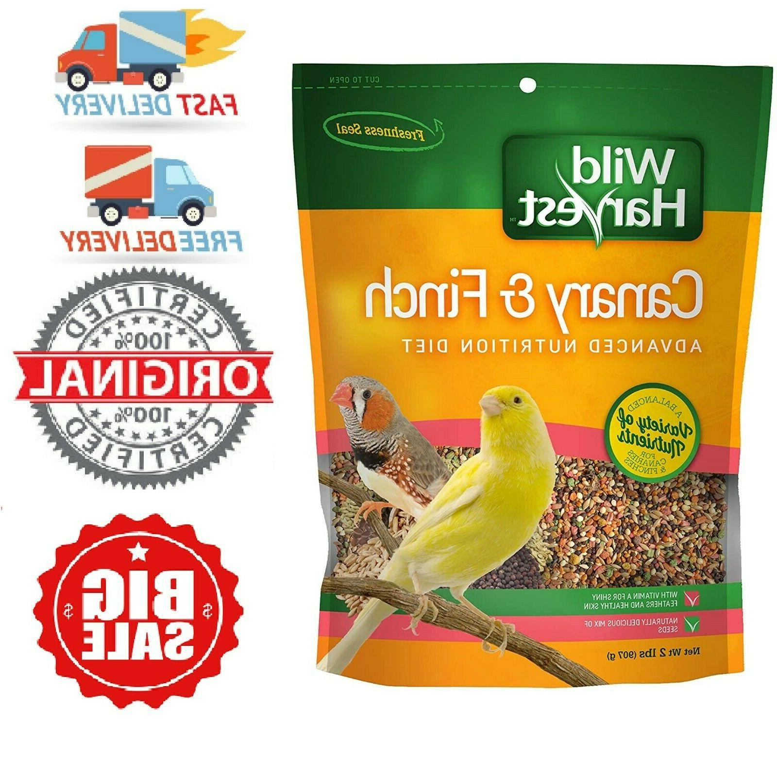 Canary & Finch Indoor Birds Food Blend Seeds Diet Protein,Fa