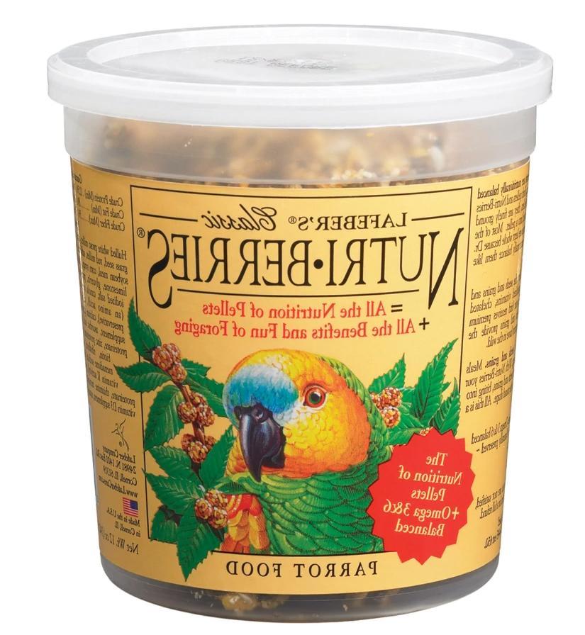Lafeber Classic Nutri-Berries for Parrots Birds Food 12 oz
