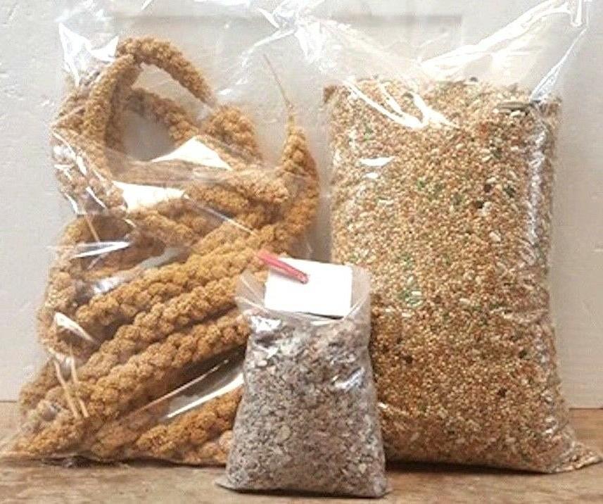 Cockatiel Food Treats 5Lbs Feed & Mineral