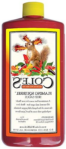 Coles Wild Bird Products Co COLESGCFS16 16 oz Flaming Squirr