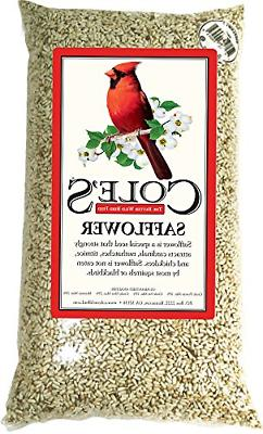 coles sa10 safflower bird seed 10 pound