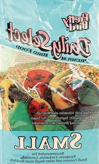 Pretty Bird Select Small Keet pellet Bird Food Diet