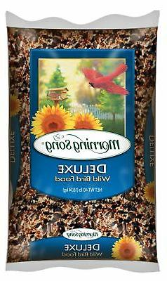 Morning Song Deluxe Wild Bird Seed And Feed, 40-Pound