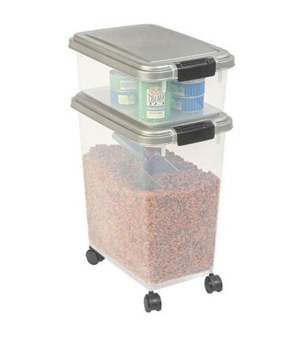 Dog and Air Tight Treats Storage. Easy