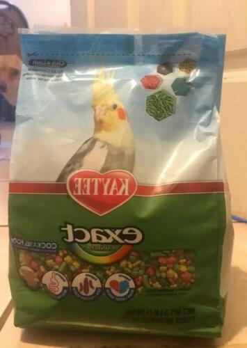 exact rainbow daily nutrition cockatiels