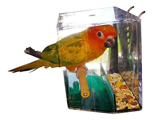 Birds LOVE Bird Seed for Cockatiels, Canaries, Food More Bird Cage–Hanging for or Inside