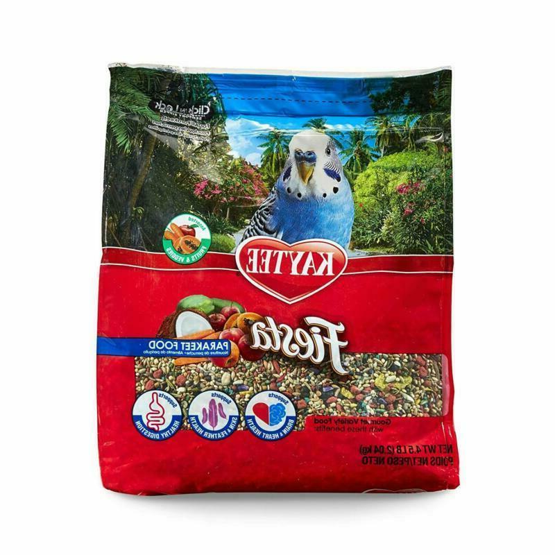 Fiesta Bird Food For Parakeets Pet Gift Xmas
