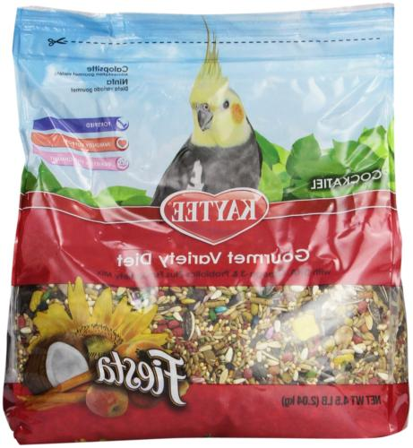 fiesta cockatiel food