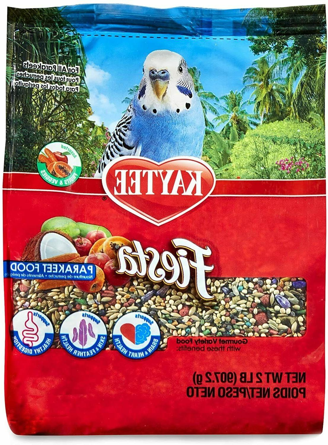 Kaytee Fiesta For Parakeets Max Bird Food Bird Treat For Par