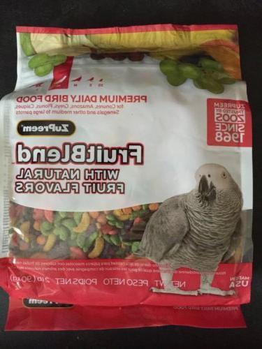 Fruit Blend Diet for Medium to Large Parrots - 2 lb.