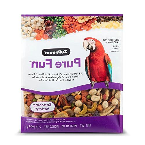 fun enriching variety mix bird