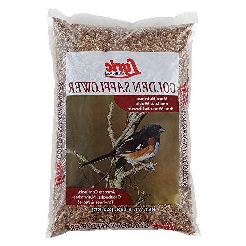 Lyric 26-47430 Golden Safflower Seed Wild Bird Food for Card
