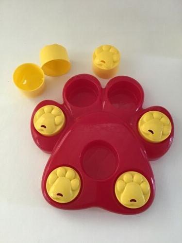 Interactive Dog Toy Big Paw a Treat Pet Cat Bird Toy