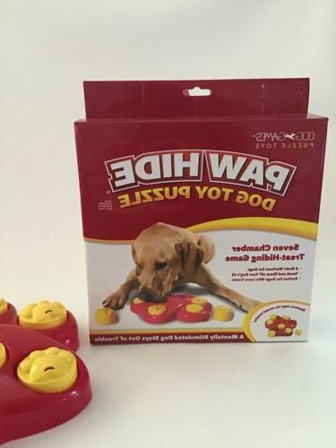 Interactive Dog Treat Big Hide Treat Bird Game Toy Puzzle