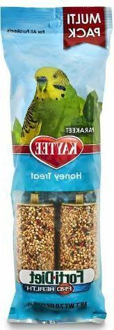 Kaytee Forti-Diet Pro Health Food Honey Bird Treat Sticks fo