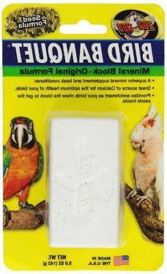 Zoo Med-Aquatrol ZM11801 Bird Banquet Mineral Block, Large