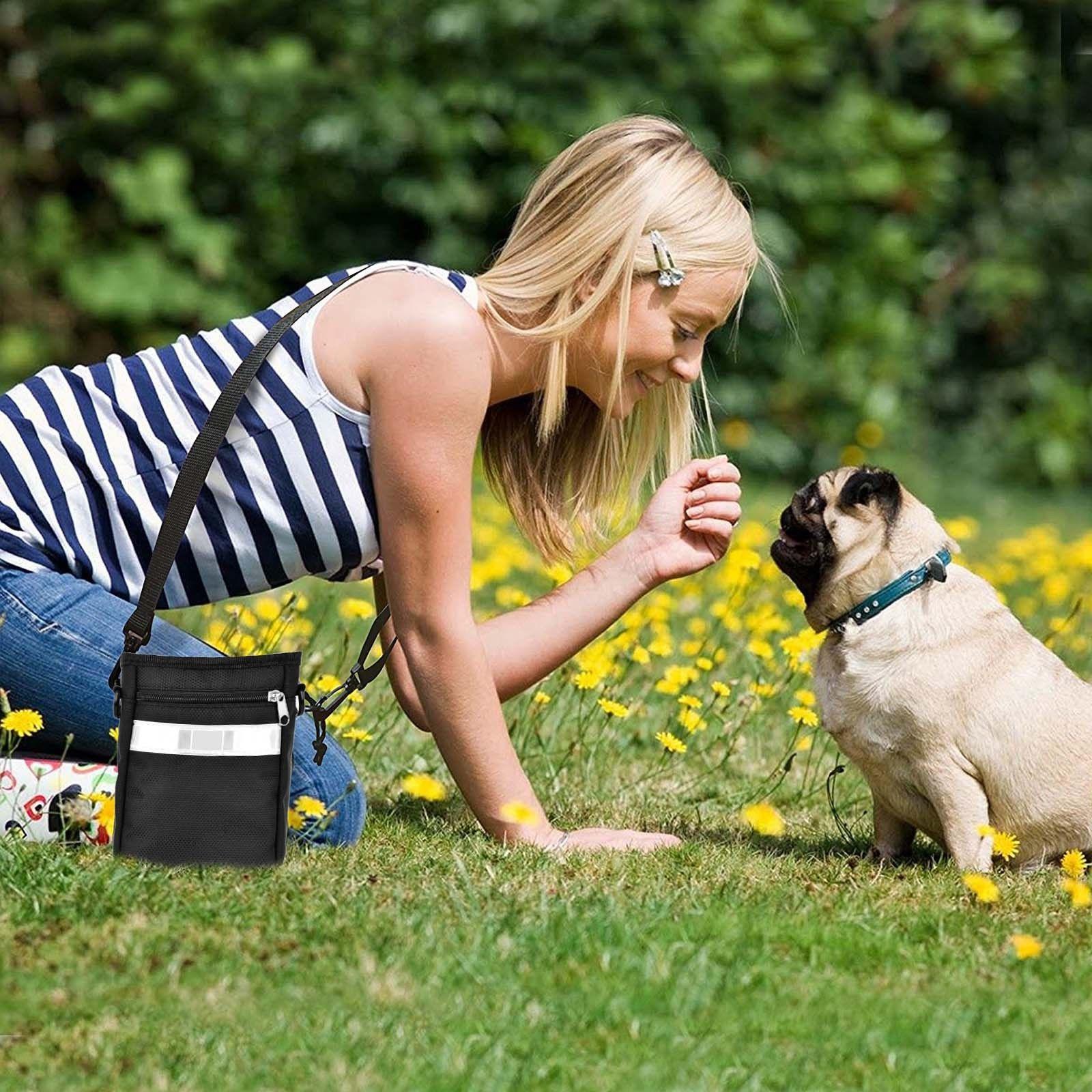 Mini Snack Bag Treat Storage Holder Pet Puppy