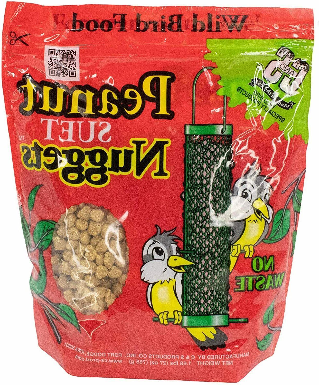 New Peanut Nuggets Bird Food 6 Usa