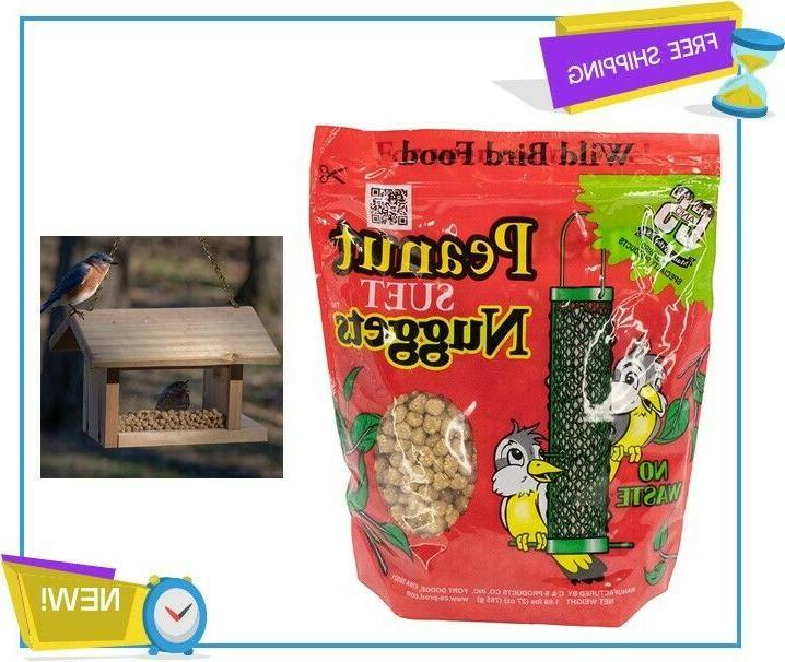 new peanut nuggets wild bird food pack