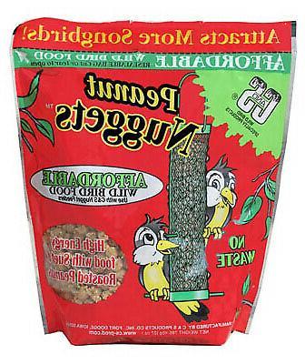 nuggets plus nuts bird food peanut flavored