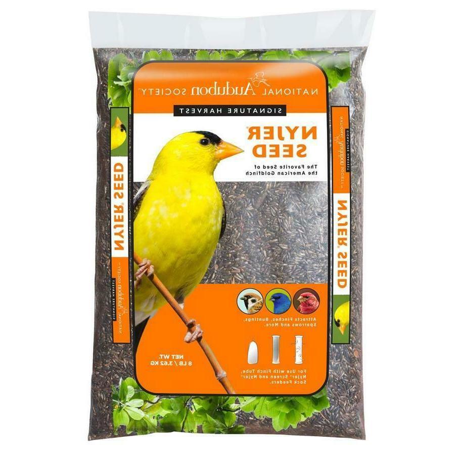Nyjer Finch Bird Seed Food Premium Mix 8-lb Bag Free Shippin