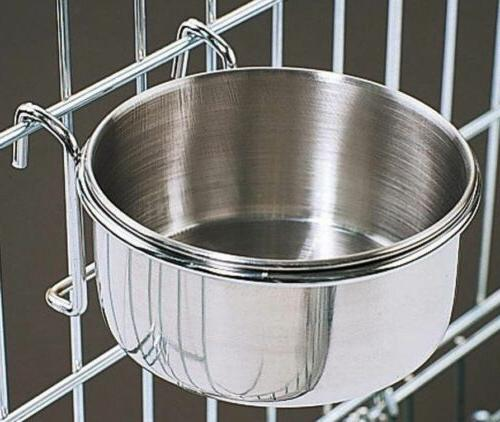 Omni Pet Stainless Coop food or Water Or Bird
