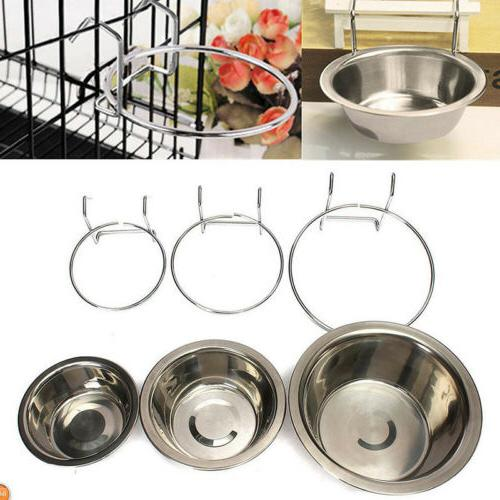 Omni Stainless Steel Coop Water For Dog Or Bird Cage