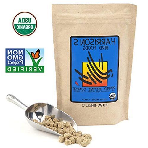 organic pepper lifetime coarse pellets