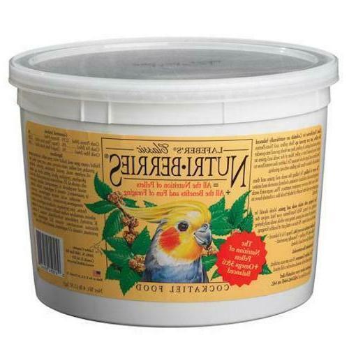 original nutri berries cockatiel bird food 2